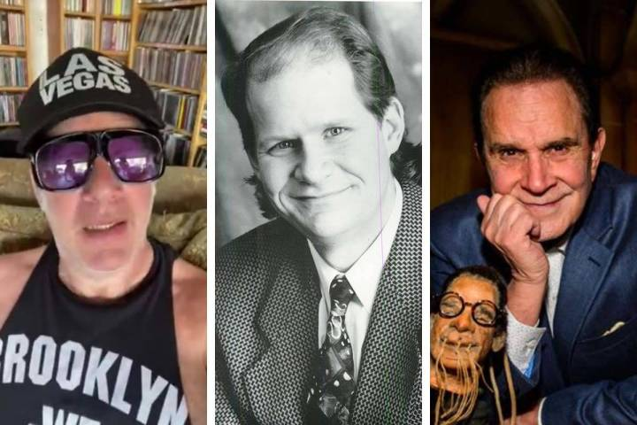 """Andrew """"Dice"""" Clay, from left, Bob Zany and Rich Little will be among the comics scheduled to a ..."""