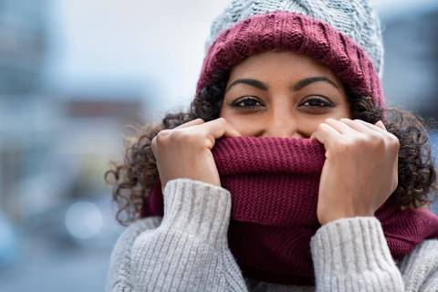 Hats, sweaters and scarfs might be called for by Monday, Oct. 26, 2020, when a cold front may d ...
