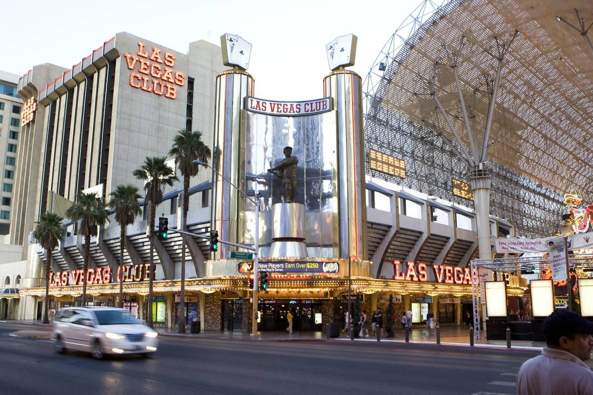 DUANE PROKOP/LAS VEGAS REVIEW-JOURNAL Las Vegas Club hotel-casino is shown August 5, 2010 in La ...