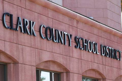 Clark County School District administration (Review-Journal file photo)