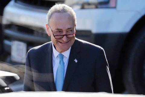 Senate Minority Leader Chuck Schumer of New York (AP Photo/Pablo Martinez Monsivais)