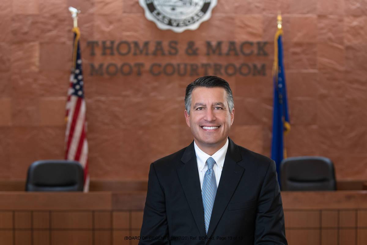 Brian Sandoval (Nevada System of Higher Education)
