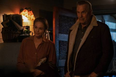 Diane Lane stars as Margaret Blackledge and Kevin Costner plays George Blackledge in director T ...