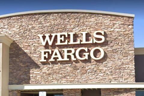Wells Fargo at 10475 S. Decatur Blvd. in Las Vegas (Google Maps)