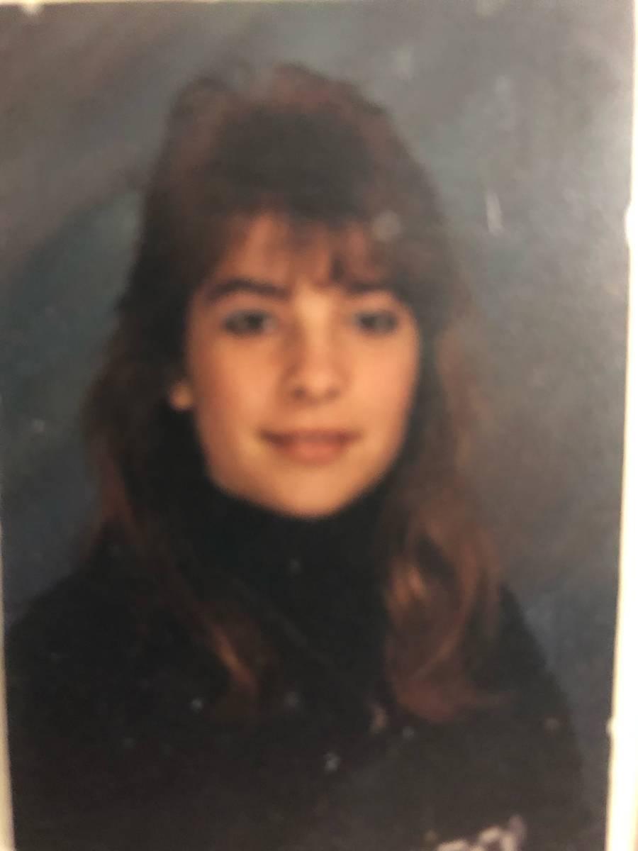 Sara Keynejad's 9th grade photo. (Courtesy of Rachael Vosika)