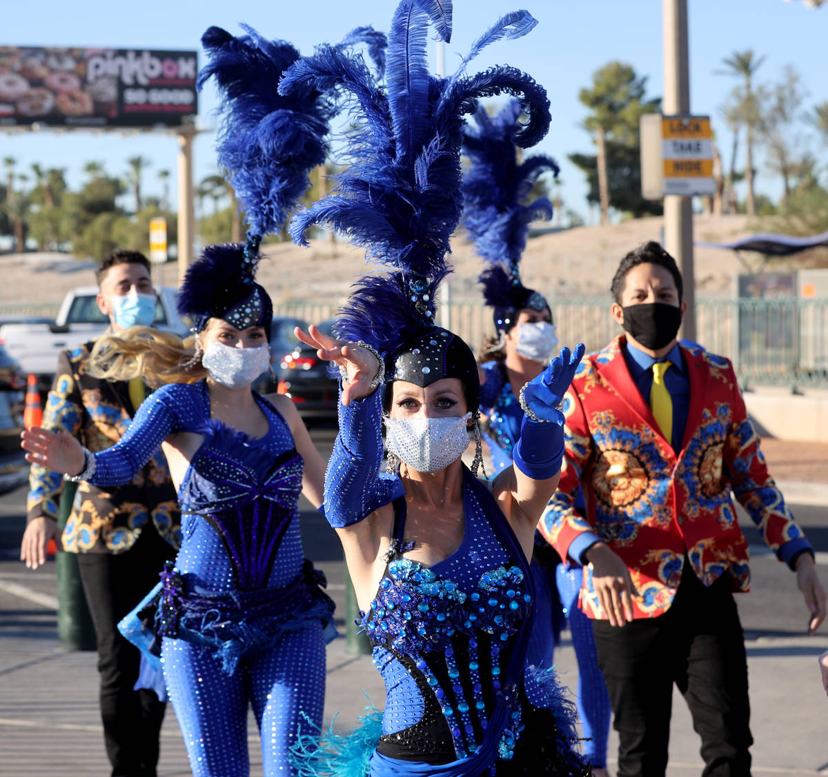 Las Vegas performers, celebrities, entertainers and business people kick off a multi-city tour ...