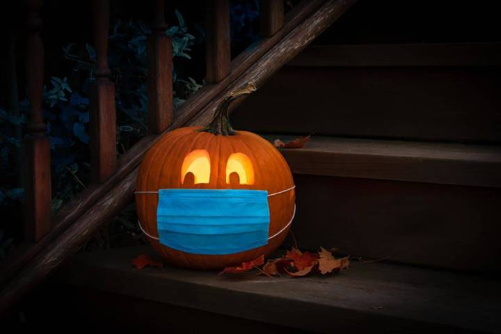 Las Vegas temperatures should be in the low 70s come trick-or-treating time on Saturday, Oct. 3 ...