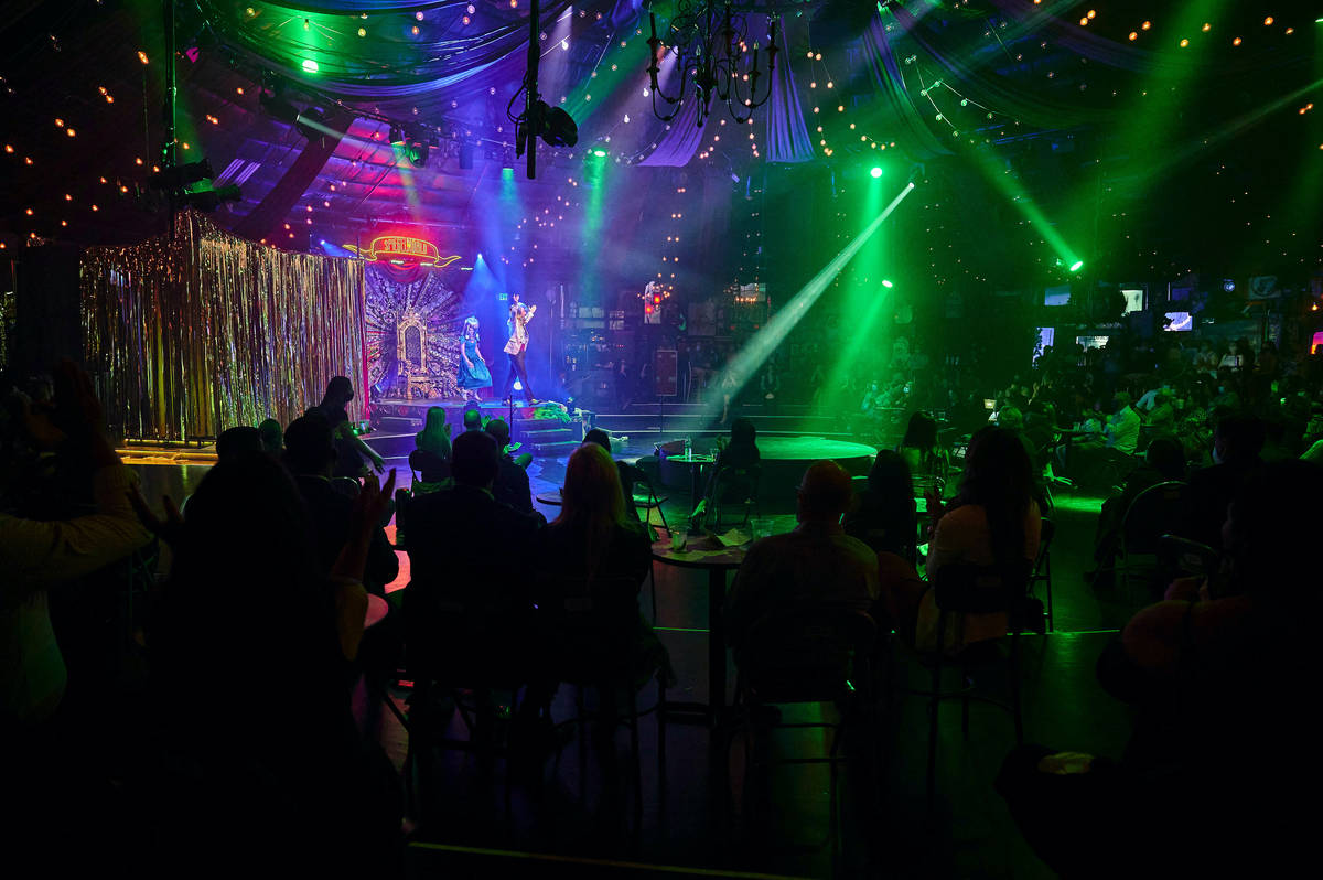 """The return of """"Absinthe"""" at Caesars Palace is shown on Wednesday, Oct. 28,2020. (Spiegelworld)"""