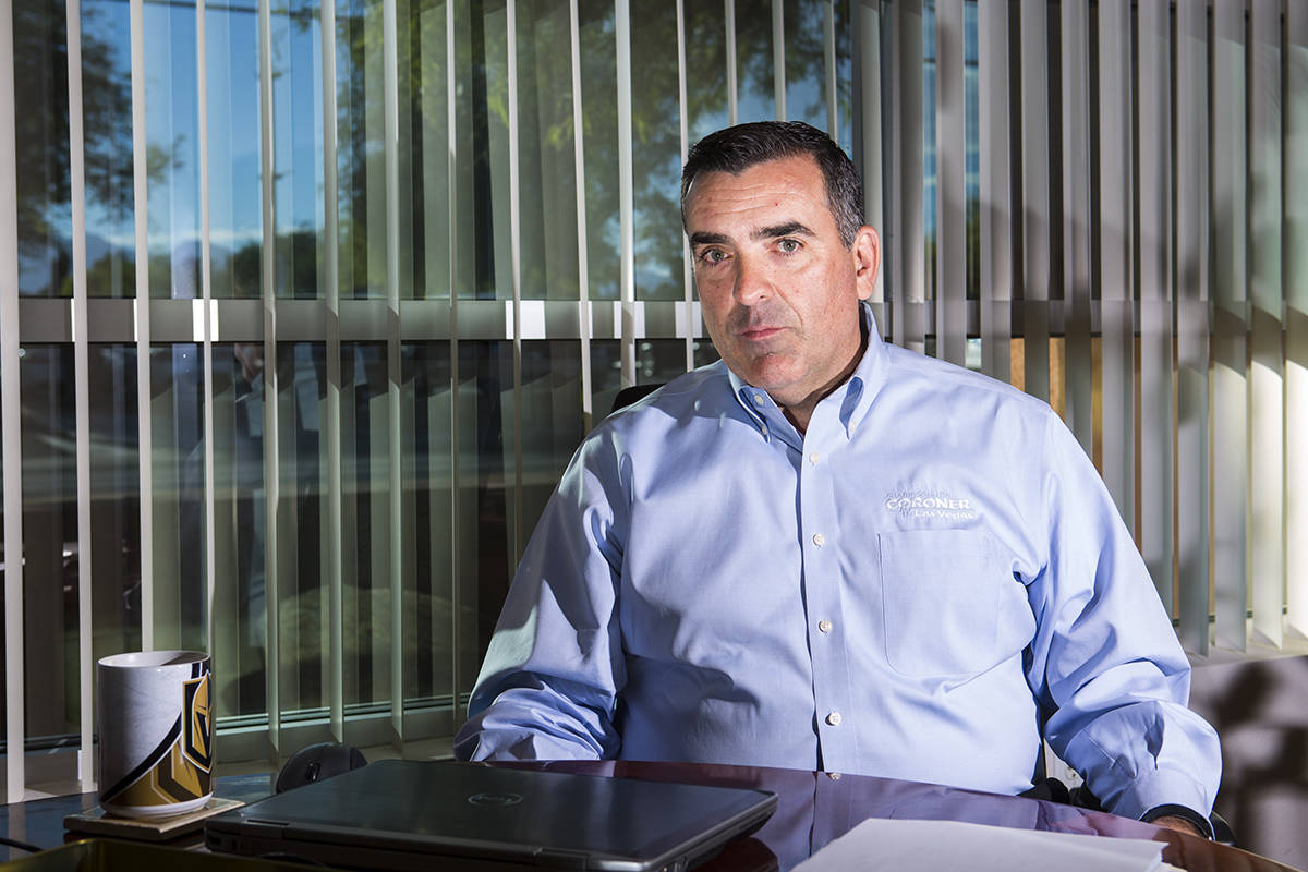 Former Clark County coroner John Fudenberg fought to keep autopsies secret costing taxpayers te ...