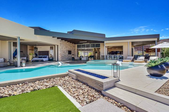This home in Ascaya was one of the first residences built in the Henderson luxury community. (H ...