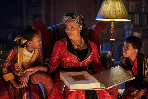 """Jingle Jangle: A Christmas Journey"" stars Phylicia Rashad as Grandmother. (Gareth Gatrell/Netflix)"