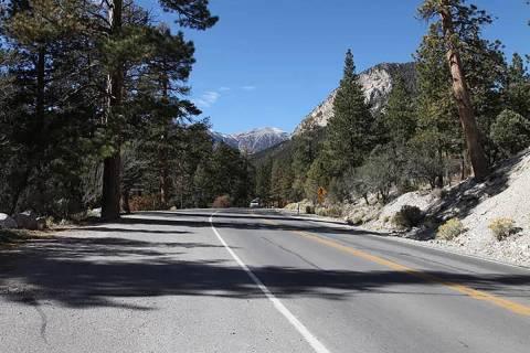 Kyle Canyon Road (Las Vegas Review-Journal file)