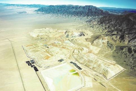 Kinross Gold Corporation is the owner of Round Mountain Gold Mine. (Las Vegas Review-Journal)