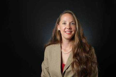 Kristen Watson, Democratic candidate for Nevada Senate District 5. (Las Vegas Review-Journal)