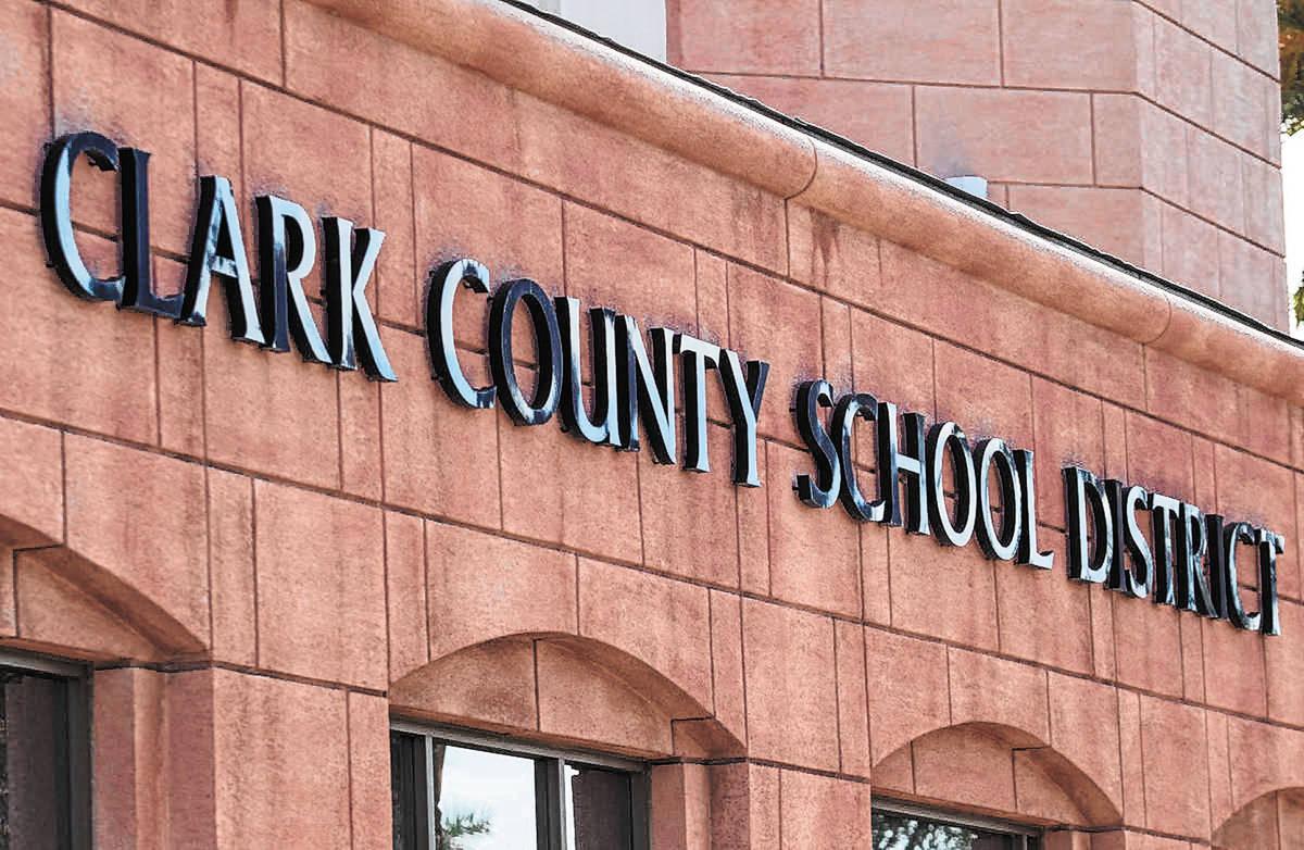 Clark County School District administration building (Las Vegas Review-Journal/File)