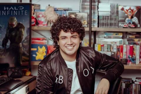 Fernando Reyes Medina is one the multiplayer game designers on Halo Infinite. (Fernando Reyes M ...