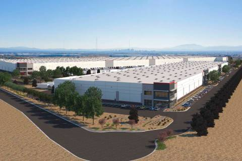 CapRock Partners plans to build a 1.1 million-square-foot industrial project in North Las Vegas ...