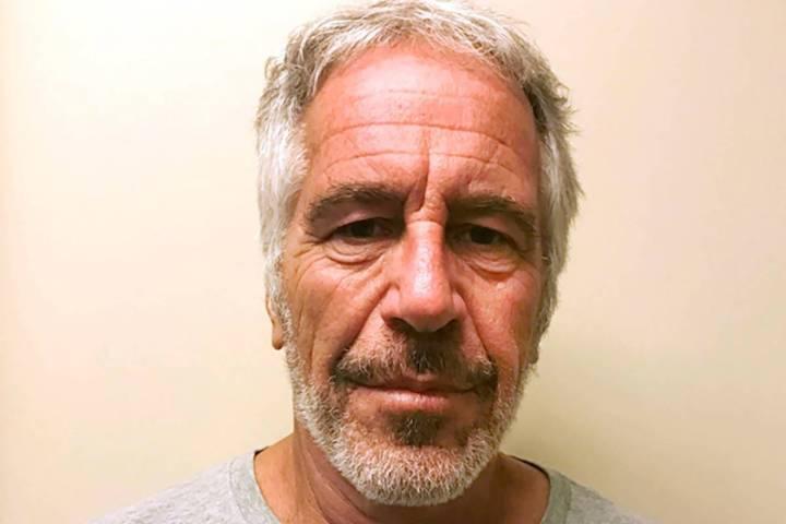 Jeffrey Epstein is seen in 2017. (New York State Sex Offender Registry via AP)