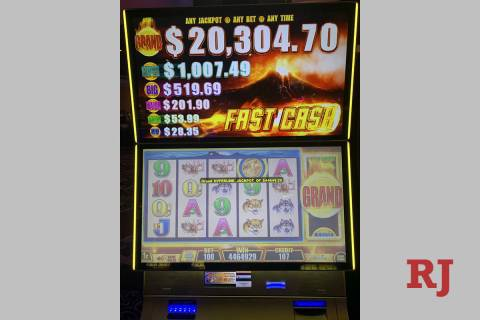 A 98-year-old woman turned a $1 bet into $44,649.29 over the weekend at the Rampart Casino. (Ra ...