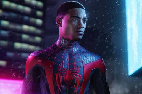"""""""Spider-Man: Miles Morales"""" is available for the PlayStation 4 and 5. (PlayStation)"""