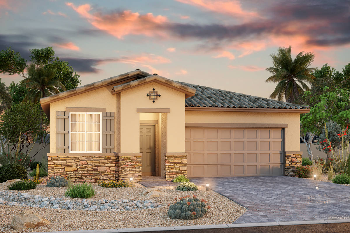 Acacia Ranch, Beazer Homes' newest community in the city of North Las Vegas, will hold a grand ...