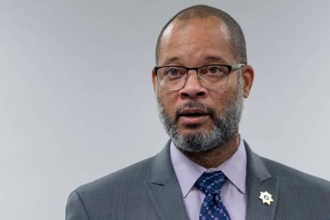 In this Aug.6, 2020, file photo, Nevada Attorney General Aaron Ford speaks in Las Vegas. (Eliza ...
