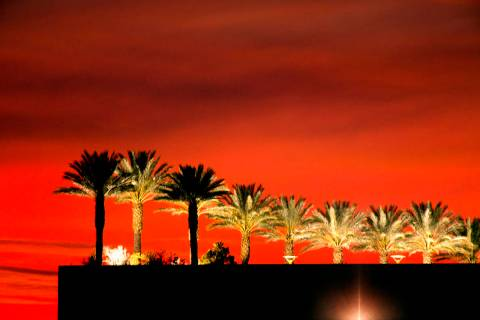 Las Vegas weather calls for highs around 71 on Thursday, Nov. 19, 2020, according to the Nation ...