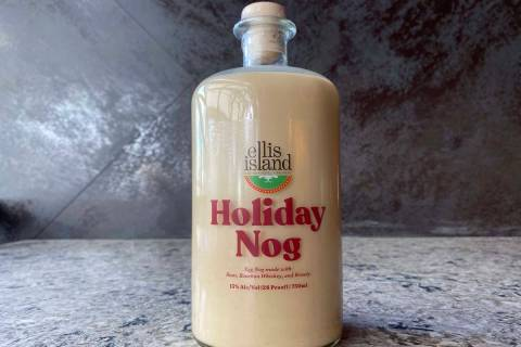 Ellis Island's Holiday Nog. (Ellis Island)