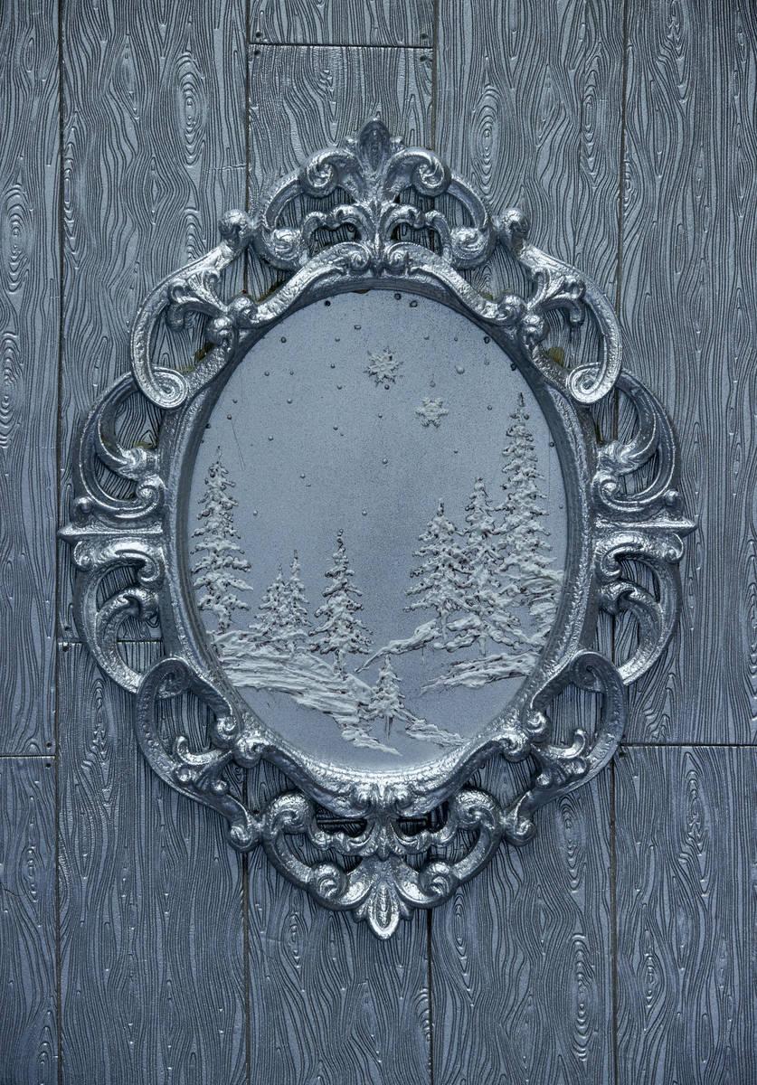 A decorative sugar piece on the door of Aria's Sugar Palace. L.E. Baskow/Las Vegas Review-Journ ...