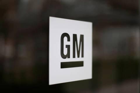 A Friday, May 16, 2014, file photo, shows the General Motors logo at the company's world headqu ...