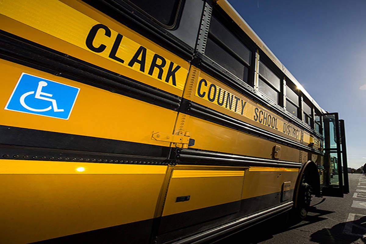 The Clark County School District is asking parents, students and staff to complete its annual D ...