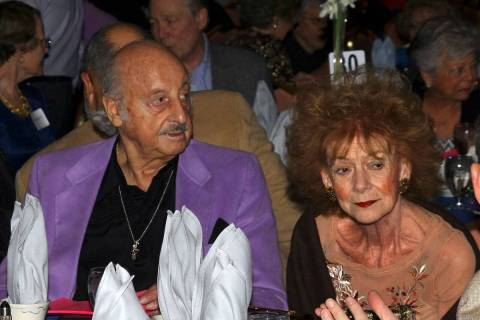 Pro sports bettor Lem Banker, shown with his wife, Debbie, on Oct. 19, 2008, in Las Vegas. Revi ...