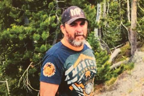 This undated photo shows Jeffrey Bushaw. Bushaw's body was found in a remote desert area near ...