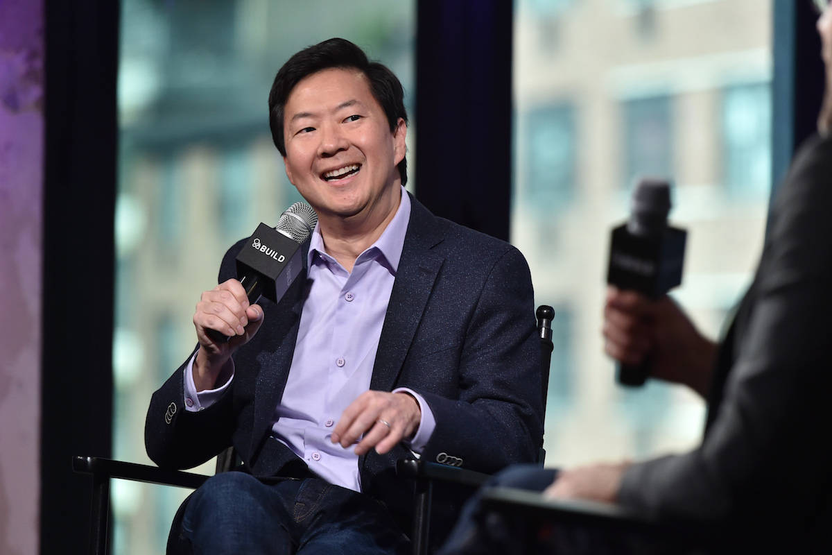 Actor Ken Jeong participates in the BUILD Speaker Series to discuss his television series &quot ...