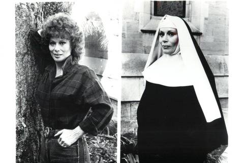 """Abby Dalton in 1984 in """"Falcon Crest."""" (CBS PHOTO/CBS PHOTO)"""
