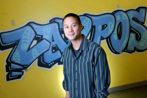 Tony Hsieh at age 34. (Las Vegas Review-Journal file)