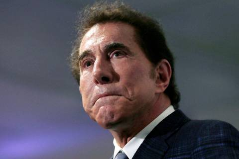 In this March 15, 2018 file photo, casino mogul Steve Wynn is seen during a news conference in ...