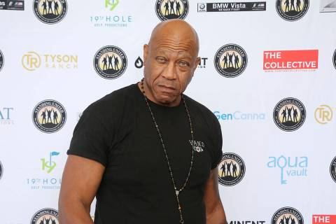 In this Friday, Aug. 2, 2019 file photo, Tommy 'Tiny' Lister attends the Mike Tyson Standing Un ...