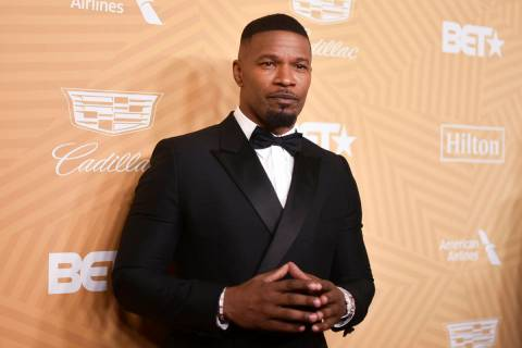 Jamie Foxx attends the American Black Film Festival Honors Awards at the Beverly Hilton Hotel o ...