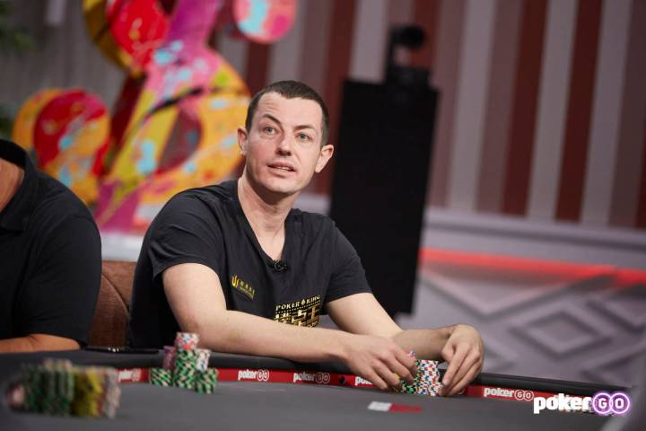 "Tom Dwan will play on upcoming episodes of ""High Stakes Poker"" on PokerGO. (PokerGO)"