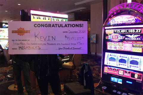 Kevin, a part-time Las Vegas resident will have a very Merry Christmas after hitting the $15.5 ...