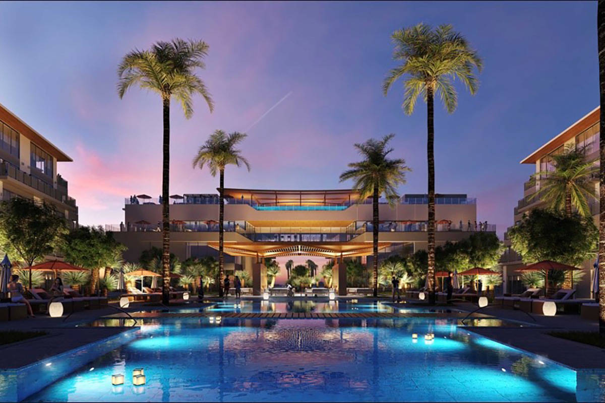 Evora, a rendering of which is seen here, is a 42-acre project in Las Vegas that is slated to f ...