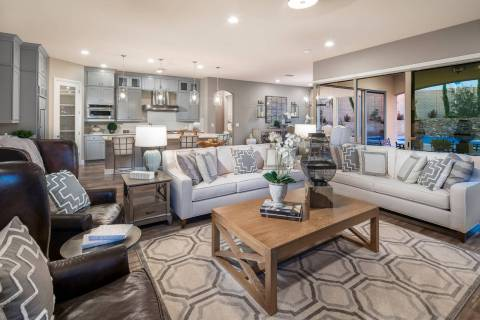 Varenna by Woodside Homes in Lake Las Vegas offers two single-story floor plans up to 1,904 squ ...