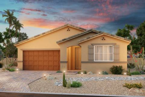 Beazer Homes opens Meadowbrook, its newest community in the city of North Las Vegas, on Jan. 16 ...