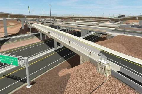 An artist rendering of what the $155 million final phase of the Centennial Bowl interchange wi ...