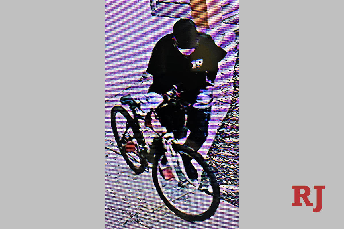 Las Vegas police are looking for a suspect who robbed a store on Sept. 24, 2020. (Las Vegas police)