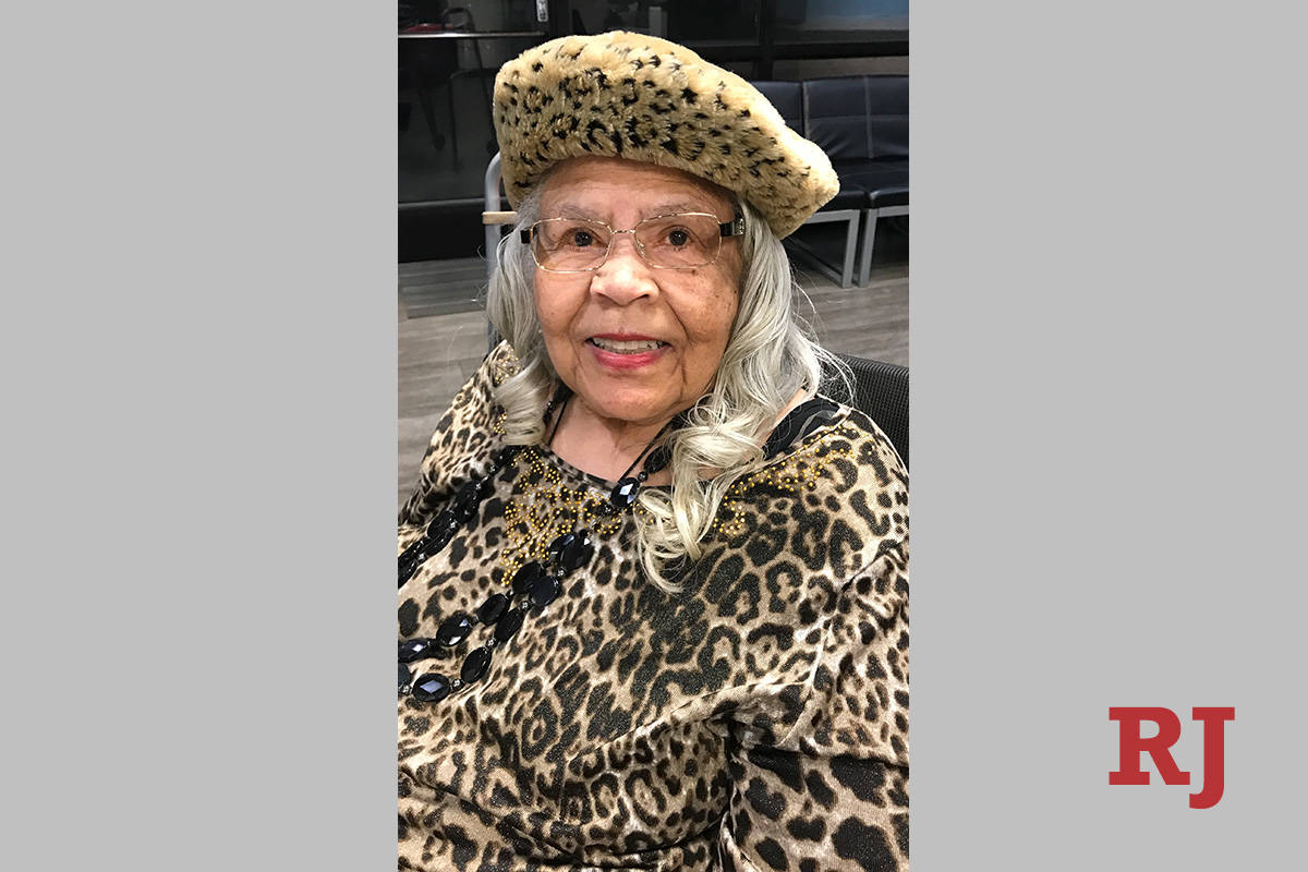 Barbara Tinch, then 86, smiles while spending time with her family in 2019. Tinch tested positi ...