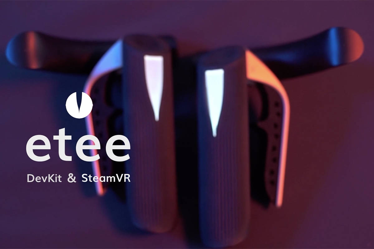 TG0's Etee, buttonless, customizable joysticks for virtual reality gaming, was a finalis ...
