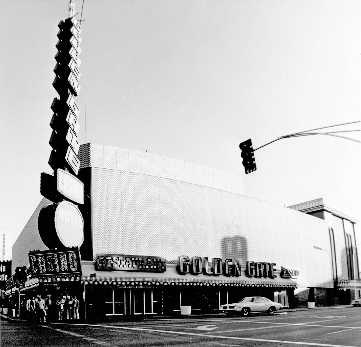 Golden Gate Hotel & Casino in 1970s. (Golden Gate Hotel & Casino)