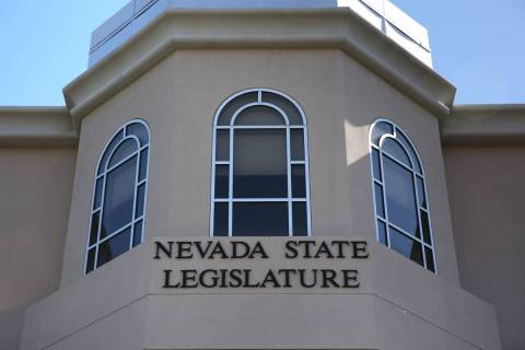 The Nevada Legislative Building in Carson City (Las Vegas Review-Journal)
